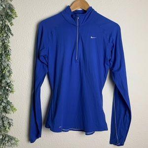 Nike Dri-fit Sz S Halfzip fitted sweatshirt
